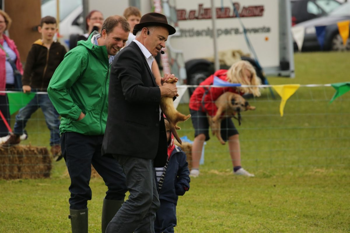 Ferret Racing at North Norfolk Country Fair